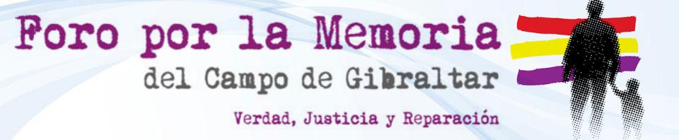 Foro por la Memoria del Campo de Gibraltar