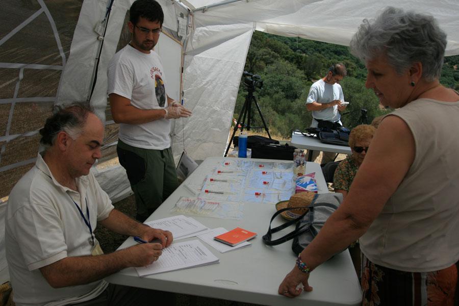 Registro de familiares que aportaron sus muestras de ADN. Foto: M. Ramírez