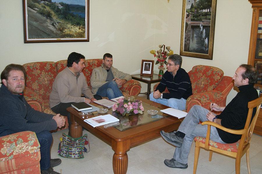 Encuentro con el Alcalde de Castellar