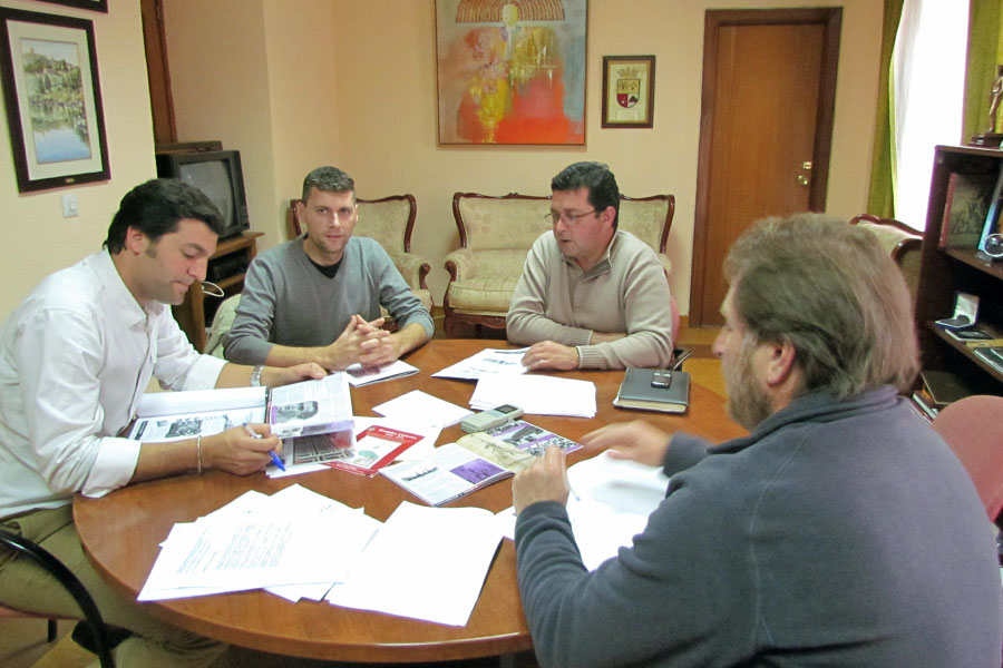 Encuentro con el Alcalde de Jimena