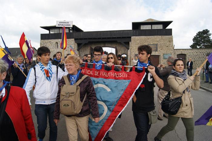 Los auténticos embajadores de España en los actos MAUTHAUSEN 2013
