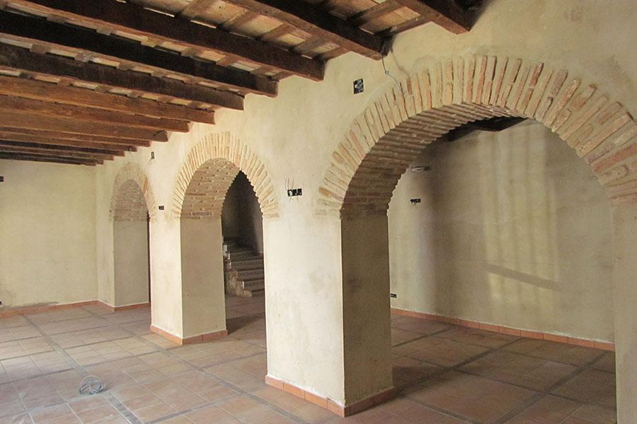 Interior de la Casa de la Memoria
