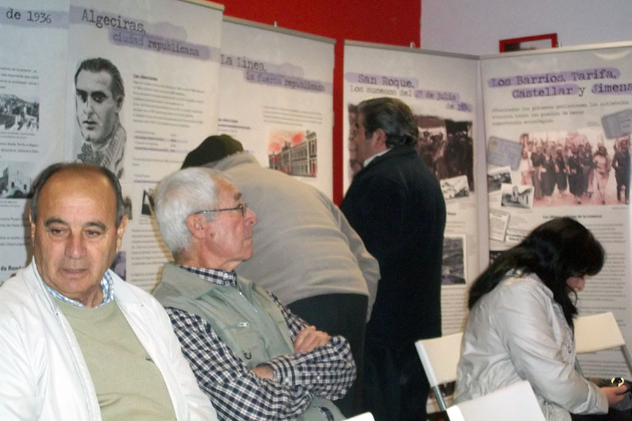 Exposición en San Roque