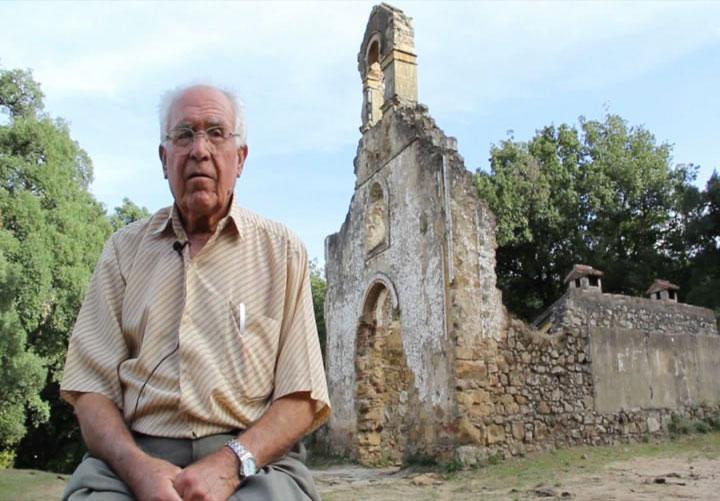 Juan González en la Sauceda