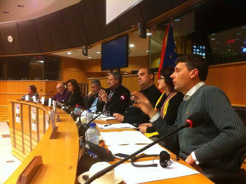 Los miembros del Foro en Bruselas