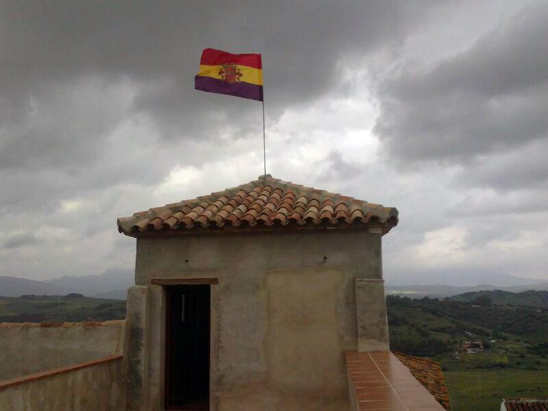 La Bandera Tricolor en la Casa de la Memoria