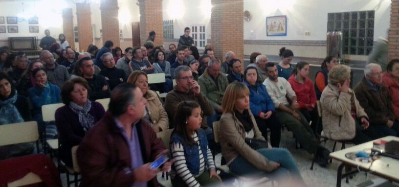 Publico asistente en Cortes de la Frontera