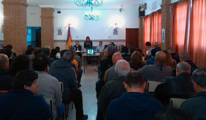 Presentación en Cortes de la Frontera
