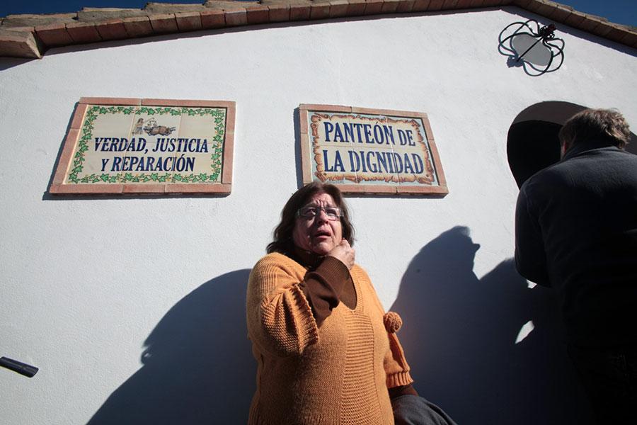 Juana Herrera nieta de desaparecido
