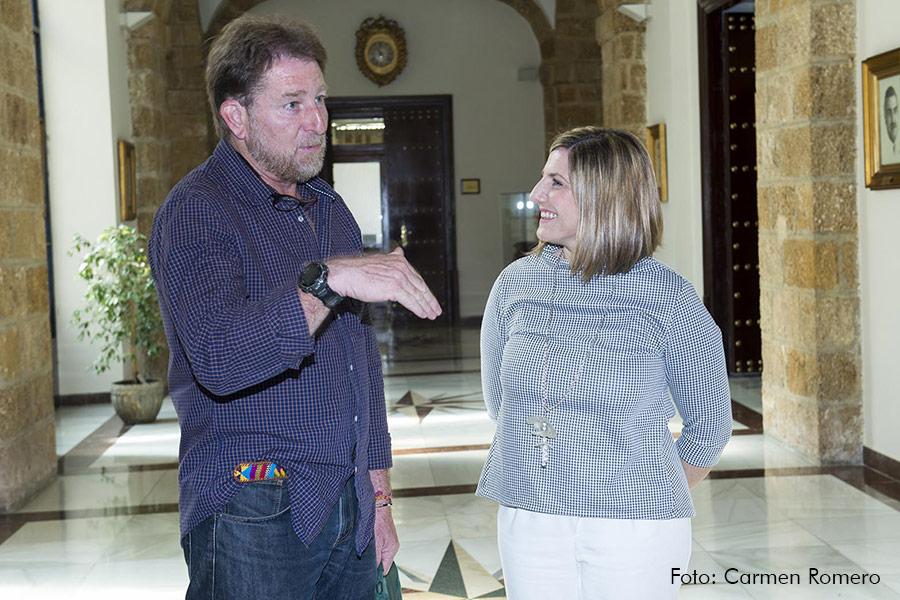 Andrés Rebolledo e Irene García