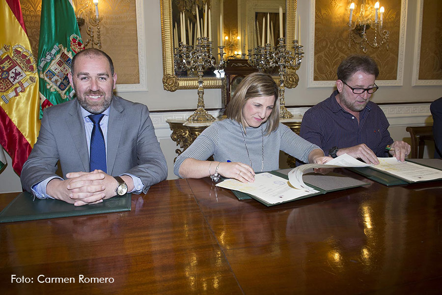 Firma de los acuerdos